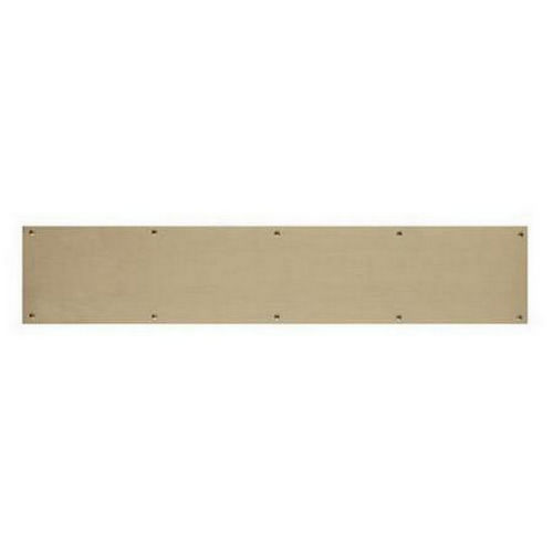 Brass Accents A09-P0628-609 Kick Plate 6
