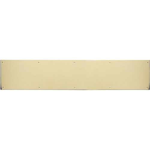 Brass Accents A09-P0628-628 Kick Plate 6