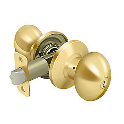 Deltana 3381-003 Egg Knob Entry, PVD (Each)