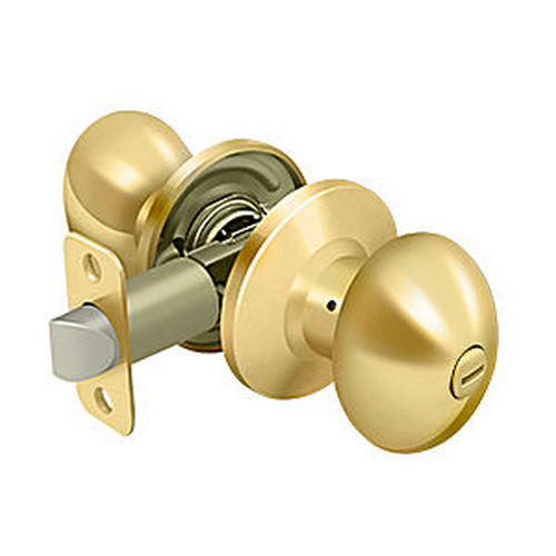Deltana 3382-003 Egg Knob Privacy, PVD (Each)
