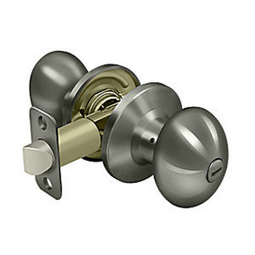 Deltana 3382-15A Egg Knob Privacy, Antique Nickel (Each)