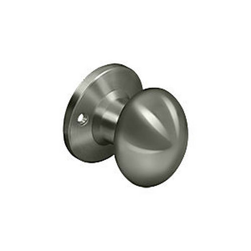 Deltana 3384D-15A Egg Knob Dummy, Antique Nickel (Each)