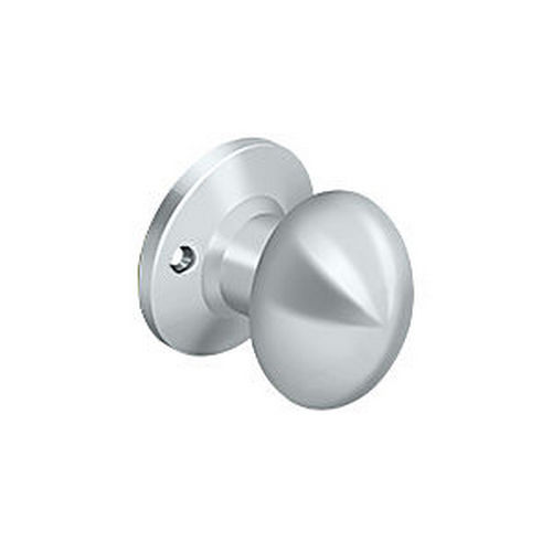 Deltana 3384D-26 Egg Knob Dummy, Chrome (Each)