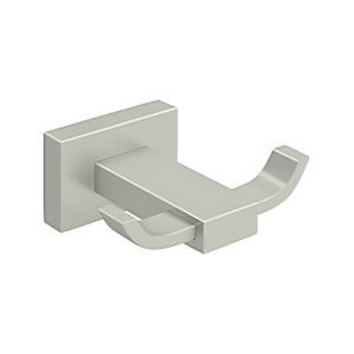 Deltana 55D2010-15 Double Robe Hook 55D Series, Satin Nickel
