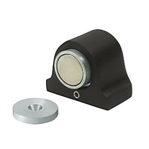 Deltana DSM125U10B Magnetic Dome Stop, Oil Rubbed Bronze (Each)