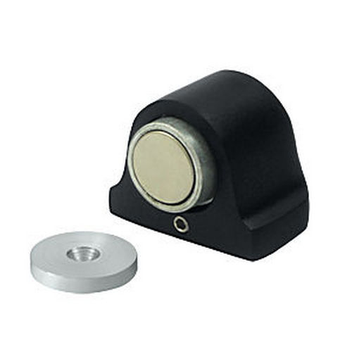 Deltana DSM125U19 Magnetic Dome Stop, Paint Black (Each)