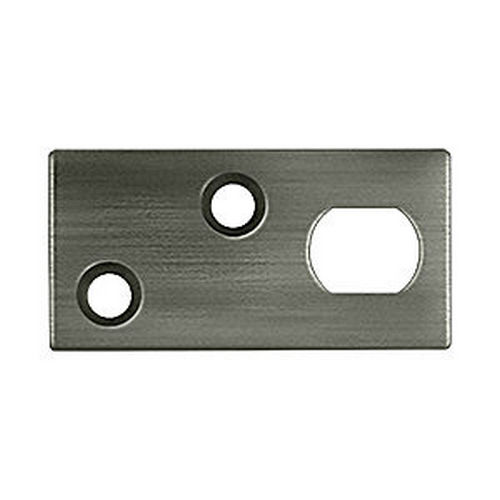 Deltana GP12EFB15A Guide Plate for 12EFB Extension Flush Bolt, Antique Nickel (Each)