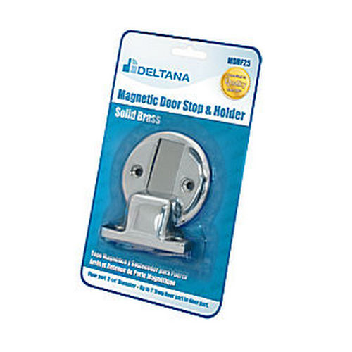 Deltana MDHF25BP26 Magnetic Door Holder Flush 2-1/2