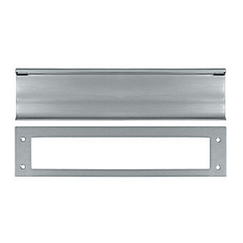 Deltana MS0030U26D Mail Slot, HD, Brushed Chrome (Each)