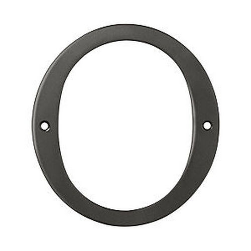 Deltana RN6-0U10B House Number 0, Oil Rubbed Bronze (Each)