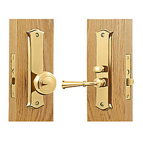 Deltana SDL688CR003 Storm Door Latch, Classic, Mortise Lock, PVD (Each)