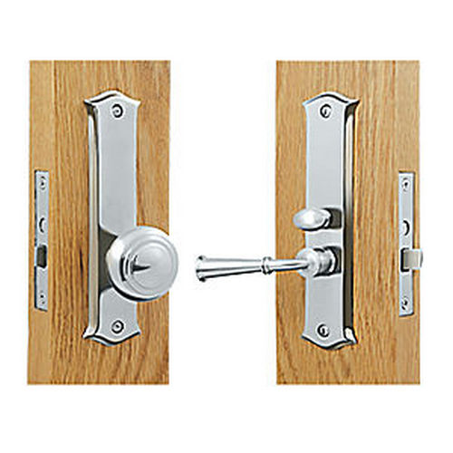 Deltana SDL688U26 Storm Door Latch, Classic, Mortise Lock, Chrome (Each)