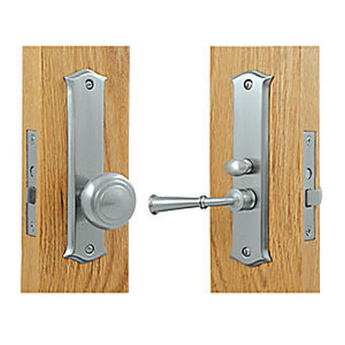 Deltana SDL688U26D Storm Door Latch, Classic, Mortise Lock, Brushed Chrome (Each)