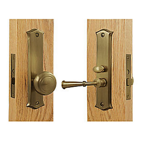 Deltana SDL688U5 Storm Door Latch, Classic, Mortise Lock, Antique Brass (Each)