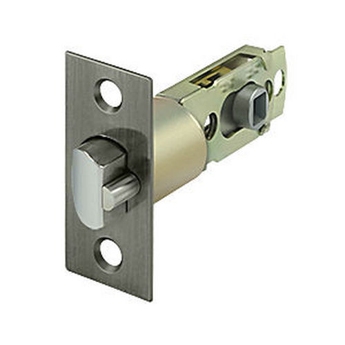 Deltana SLE23875U15A Square Latch Adj. Entry, Antique Nickel (Each)