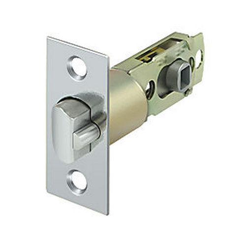 Deltana SLE23875U26 Square Latch Adj. Entry, Chrome (Each)