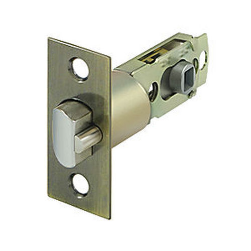 Deltana SLE23875U5 Square Latch Adj. Entry, Antique Brass (Each)