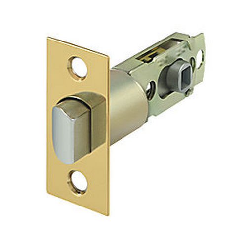 Deltana SLP23875CR003 Square Latch Adj. Privacy/Passage, PVD (Each)