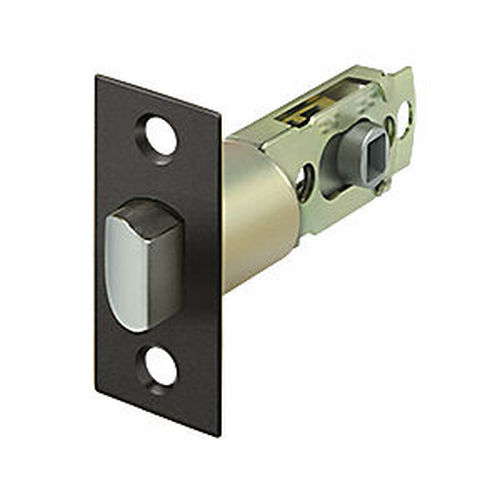 Deltana SLP23875U10B Square Latch Adj. Privacy/Passage, Oil Rubbed Bronze (Each)