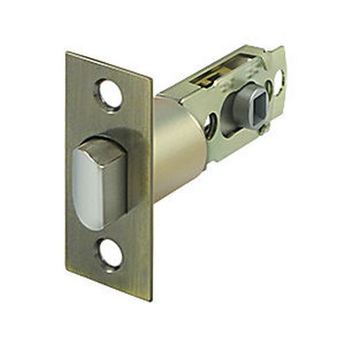 Deltana SLP23875U5 Square Latch Adj. Privacy/Passage, Antique Brass (Each)