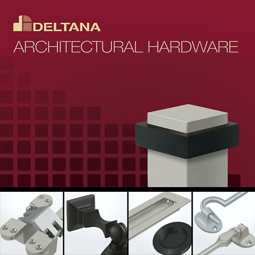 Deltana SDPA325U3-UNL Pocket Lock Adjustable Passage 3-1/4