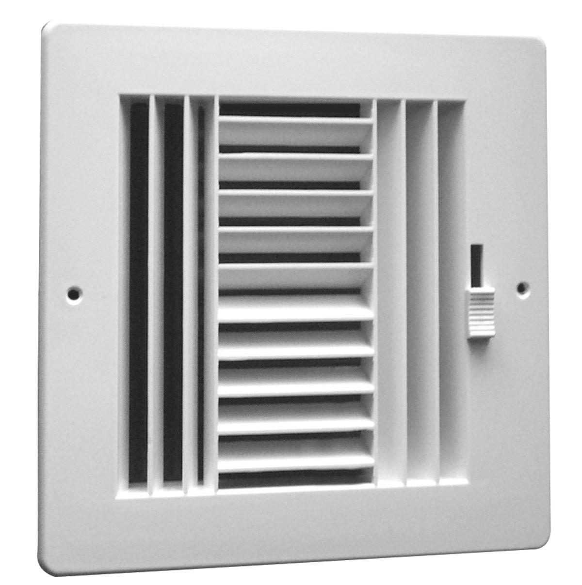 Hart Amp Cooley Rezzin Rz 4 Way Sidewall Ceiling Register
