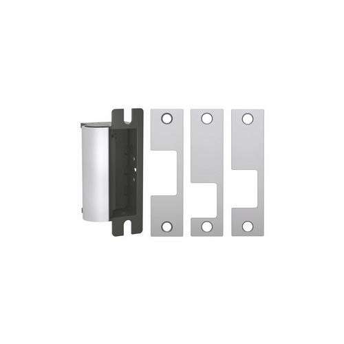 HES 1006CLB-BLKKEEPER-630 1006 Series Electric Strike, Satin Stainless Steel