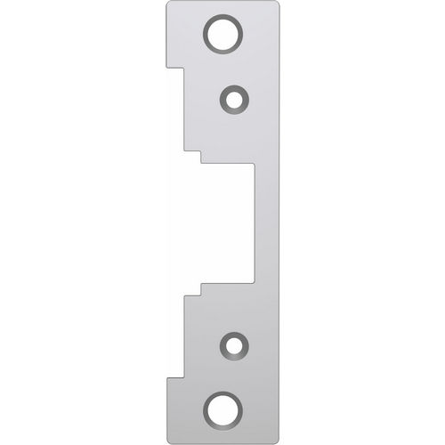HES 791-630 Faceplate 478 Cylinder, Satin Stainless Steel