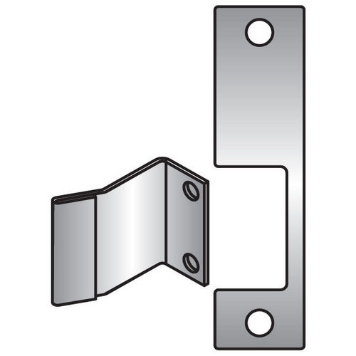 HES R-630 Faceplate for 1006 Series, Satin Stainless Steel