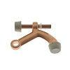 IDH 13029-008 Solid Brass Hinge Pin Stop, Bright Copper