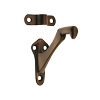 IDH 18014-08A Hand Rail Bracket (Tapered Base), Anqitue Copper