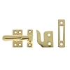 IDH 21013-003 Small Casement Fastener, Polished Brass