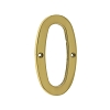 IDH 23020-003 Cast Solid Brass Number: #0, 4