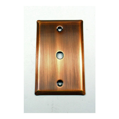 IDH 28024-10B Square Single Antenna Plate, Oil-Rubbed Bronze
