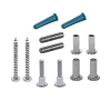 Jacknob 49 Screw Pack for 2 Piece Wall Bracket, Stainless Steel