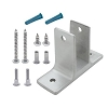 Jacknob 101753 Wall Bracket (1753) 1