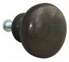 John Wright Company 88-752 Round Knob 38mm, Satin Finish