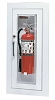 Larsen's C24095R Cameo Series Fire Extinguisher Cabinet