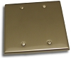 Residential Essentials 10821 Double Blank, Satin Nickel