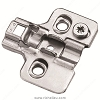 Richelieu RCS00520 Screw-in plates with eccentric adjustment