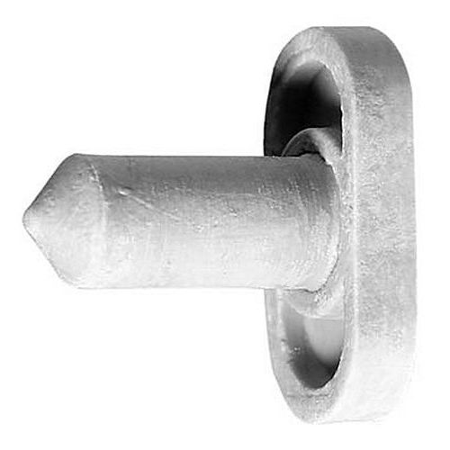 Rockwood 609 Door Silencer for Wood Door Gray Rubber
