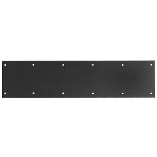 Rockwood K2060Gray Plastic Kick Plate-Heavy Duty, .060