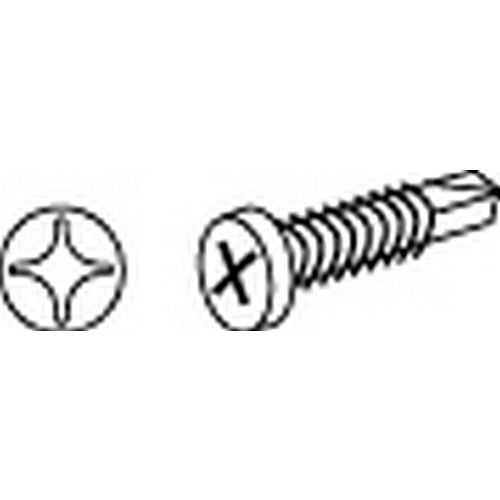Rockwood SP1069 Pan Head (TEK) Self-Drilling Screw, #6 x 5/8