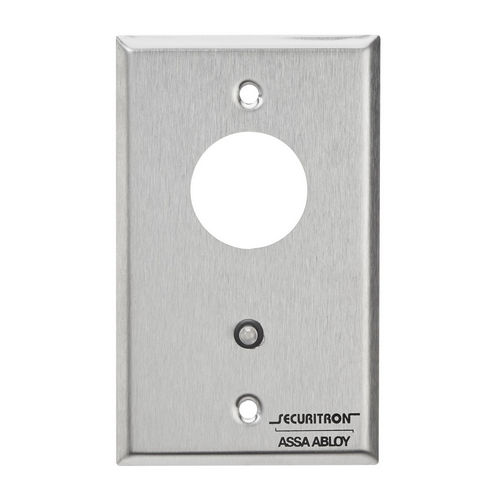 Securitron MK2 Mortise Key Switch DPDT Momentary, Single Gang