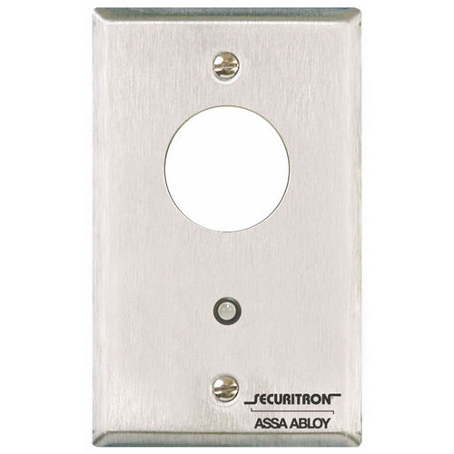Securitron MK Mortise Key Switch Momentary Single Gang