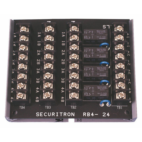 Securitron RB-4-12 Relay Board 12 VDC