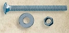Snug Cottage FP-CB325 HDG Carriage Bolt, Nut, & Washer 2-1/2