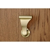 SOSS LCL-4 Stationary Closet UltraLatch Handle, Satin Brass