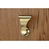 SOSS LCL-3 Stationary Closet UltraLatch Handle, Bright Brass