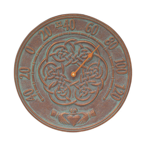 Whitehall 1594 Celtic Knot Outdoor Thermometer